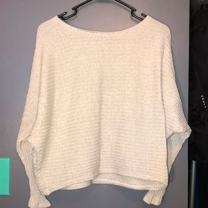 Nude comfortable sweater